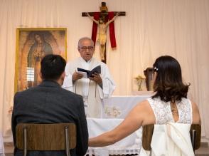 Boda Sole y Nani - Iglesia en Baja-11