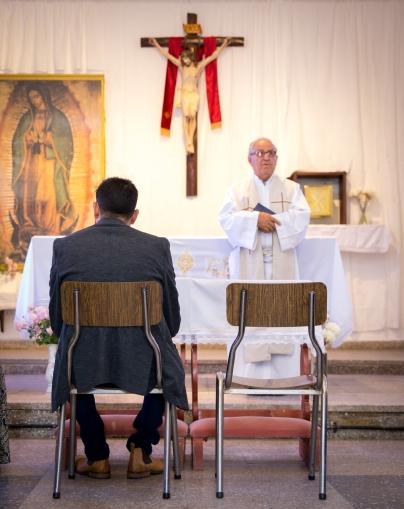 Boda Sole y Nani - Iglesia en Baja-3